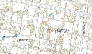 太田下町戸建地図