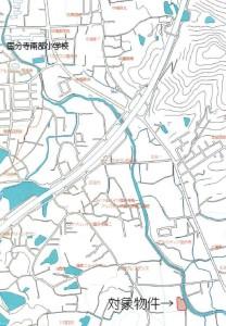 国分寺地図広域