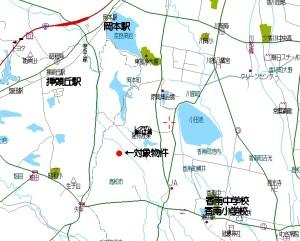 香南町戸建て地図