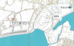 香川町浅野土地地図