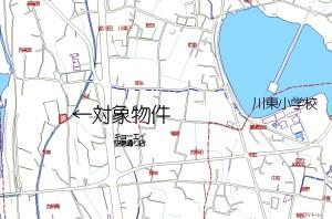 香川町川東土地地図