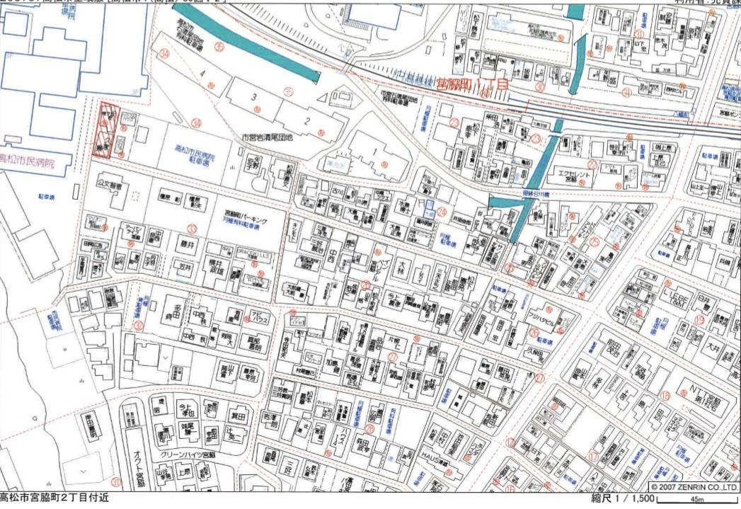 桜ケ丘荘 地図