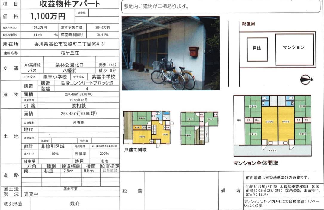 桜ケ丘荘 資料