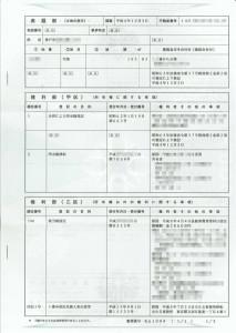 土地登記簿謄本サンプル