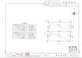 地積測量図サンプル