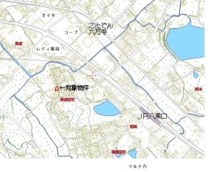 牟礼町牟礼土地地図