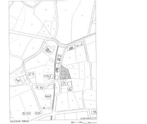 香川町倉庫位置図