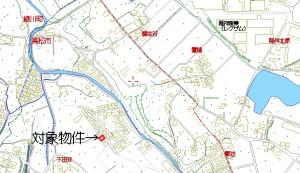 井手邸地図