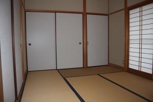 タタミ部屋